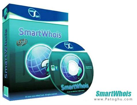 دانلود نرم افزار دریافت اطلاعات از آی پی ها و آدرس های اینترنتی SmartWhois 5.1.270