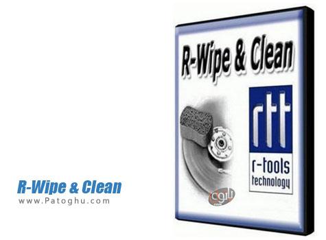 نرم افزار پاک سازی کامل رد پا های شما در کامپیوتر R-Wipe & Clean 9.9 Build 1858