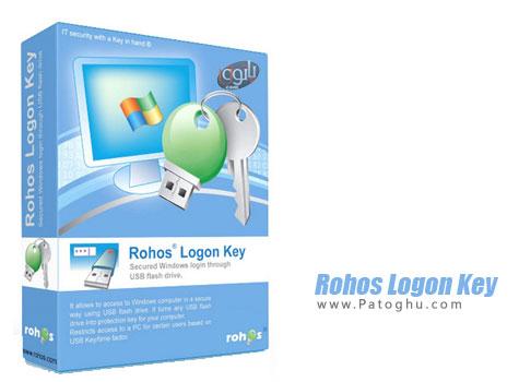 دانلود نرم افزار قفل ویندوز با USB فلش Rohos Logon Key 3.0