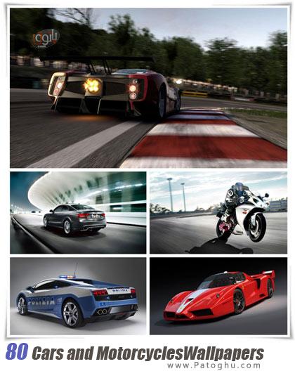 دانلود مجموعه 80 والپیپر با کیفیت HD از ماشین ها و موتورسیکلت ها Cars and Motorcycles Full HD Wallpapers