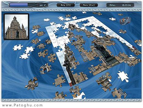 دانلود بازی کم حجم پازل سه بعدی برای کامپیوتر 3D Puzzle Venture For PC