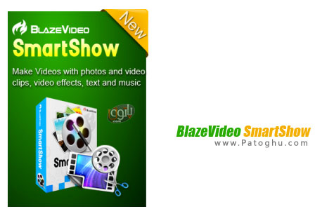دانلود نرم افزار ساخت کلیپ های تصویری حرفه ای BlazeVideo SmartShow 1.2.0.0