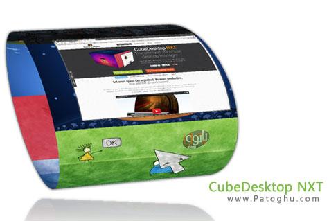دانلود نرم افزار داشتن دسکتاپ سه بعدی CubeDesktop NXT 2.13.0425