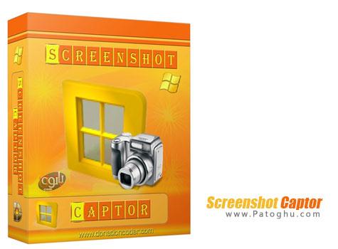 دانلود نرم افزار قدرتمند گرفتن عکس از دسکتاپ Screenshot Captor v4.7.0
