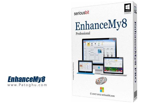 دانلود نرم افزار بهینه ساز و افزایش سرعت ویندوز 8 و ویندوز 8.1 با EnhanceMy8 2.2.1