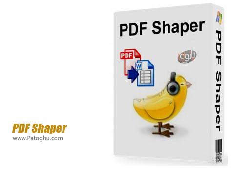 دانلود نرم افزار تبدیل PDF به فرمت های متنی PDF Shaper 2.2