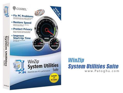 دانلود نرم افزار بهینه ساز ویندوز WinZip System Utilities Suite v2.0.648.13999
