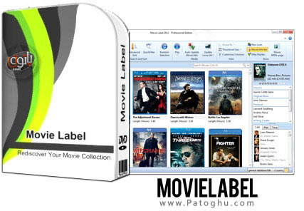 آرشیو کردن کامل فیلم ها به صورت دسته بندی و منظم با Movie Label 2014 v9.2.1946
