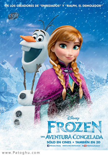 دانلود انیمیشن Frozen 2013 - دانلود انیمیشن یخ زده