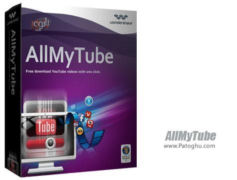 نرم افزار دانلود ویدیوها و کلیپ های آنلاین Wondershare AllMyTube