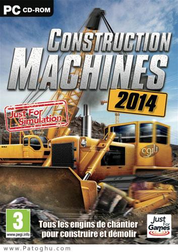دانلود بازی شبیه سازی ساخت و ساز با ماشین آلات سنگین Construction Machines 2014
