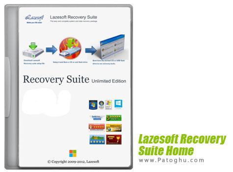 دانلود نرم افزار بازیابی اطلاعات Lazesoft Recovery Suite Home 3.5.1 Final