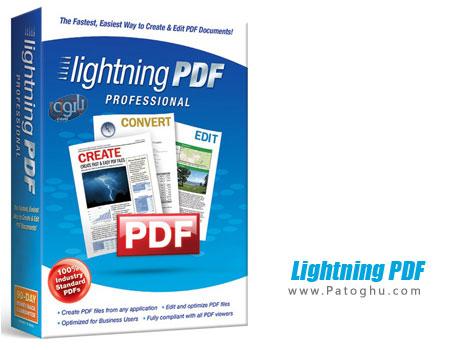 دانلود نرم افزار ساخت ، ویرایش و تبدیل PDF با Lightning PDF Professional 7.0.1800