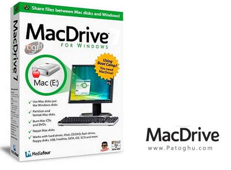 دانلود نرم افزار اشتراک گذاری فایل میان ویندوز و مکینتاش MacDrive Pro 9.3.0.5