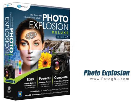 دانلود نرم افزار ویرایش و افزودن جلوه های ویژه به عکس Photo Explosion Deluxe 5.01.26070