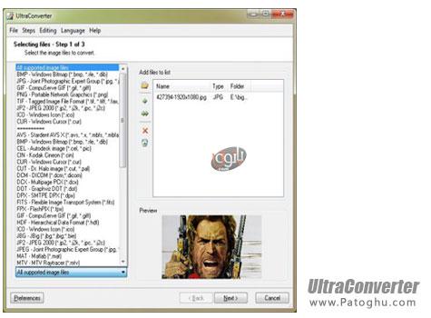 دانلود نرم افزار قدرتمند تبدیل فرمت عکس UltraConverter 2.1 Build 51