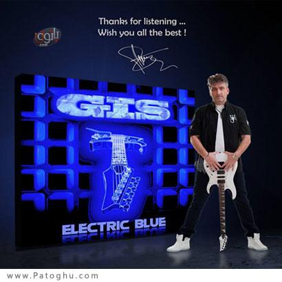 دانلود آلبوم بی کلام گیتار الکتریک Gis - Electric Blue 2014