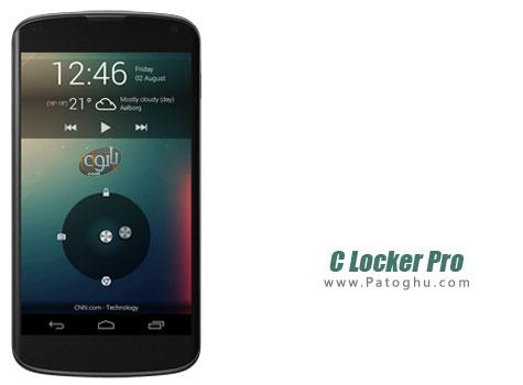 دانلود لاک اسکرین زیبا و کاربردی برای اندروید C Locker Pro