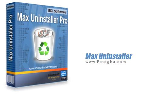 دانلود نرم افزار حذف کامل نرم افزارهای نصب شده Max Uninstaller 2.1.0