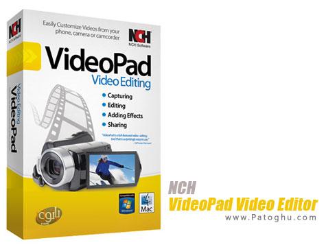 دانلود نرم افزار ویرایش فایل های ویدیویی NCH VideoPad Video Editor Pro 3.28