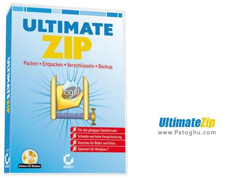 دانلود نرم افزار فشرده ساز سریع و قدرتمند فایل ها و فولدرها UltimateZip 7.0.1