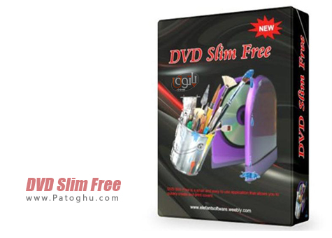 دانلود نرم افزار طراحی و چاپ لیبل CD و DVD با DVD Slim Free 2.6.0.13
