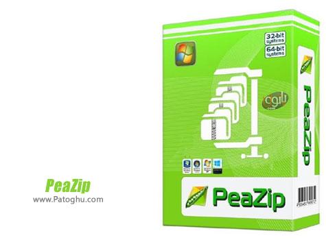 دانلود نرم افزار فشرده ساز فایل ها و فولدرها PeaZip 5.2.1 Final