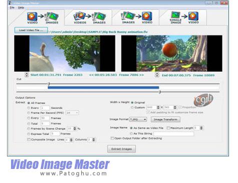دانلود نرم افزار استخراج عکس از فیلم ها Video Image Master 7.8