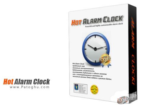 دانلود نرم افزار زنگ هشدار برای کامپیوتر و یادآوری کارها Hot Alarm Clock v4.0.4.0