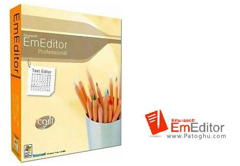 دانلود نرم افزار ویرایشگر حرفه ای متن و کدهای برنامه نویسی Emurasoft EmEditor Professional 14.2.0