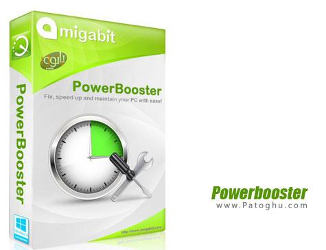 دانلود نرم افزار بهینه ساز قدرتمند ویندوز Amigabit Powerbooster