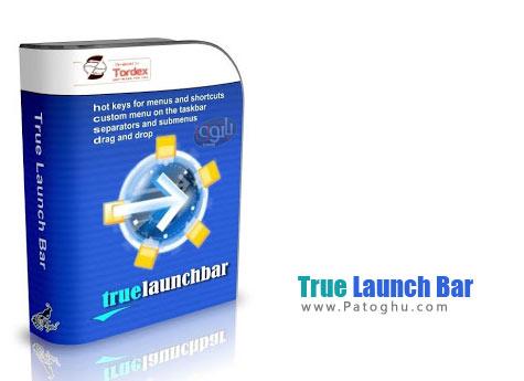 دانلود نرم افزار افزودن منو زیبا و بسیار کاربردی به ویندوز - True Launch Bar v6.0