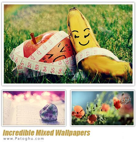 دانلود مجموعه والپیپر با کیفیت و زیبای دسکتاپ - Best Incredible Mixed Wallpapers