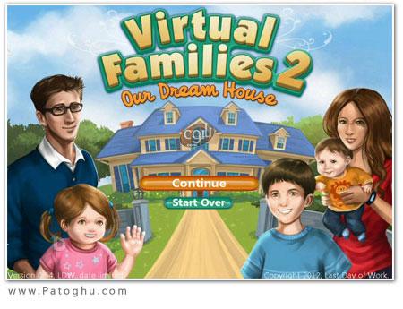 دا1نلود بازی جذاب و کم حجم Virtual Families 2: Our Dream House