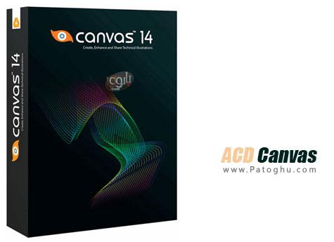 نرم افزار فوق العاده و قدرتمند طراحی صنعتی - ACD Canvas 14.0.1618 GIS