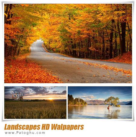 مجموعه والپیپر ناب و زیبا از طبیعت - Best Landscapes HD Walpapers