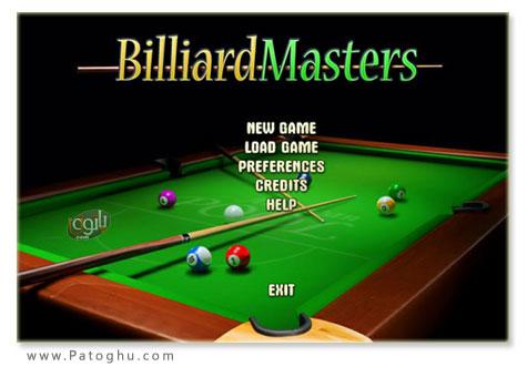 دانلود بازی بیلیارد برای کامپیوتر - Billiard Masters