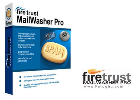 محافظت  از ایمیل و سیستم در برابر Spam ها MailWasher Pro 1.5.0