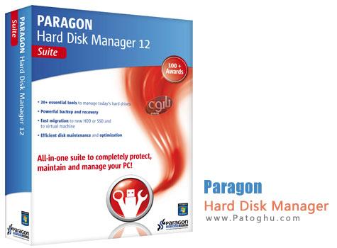 مدیریت و پارتیشن بندی فوق حرفه ای هارد دیسک با نرم افزار Paragon Hard Disk Manager 12 Pro 10.1.19.16240
