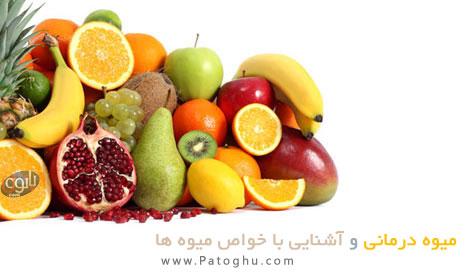 دانلود کتاب میوه درمانی و آشنایی کامل با خواص مفید میوه ها