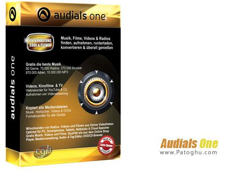 دانلود نرم افزار جستجوی آهنگ ، فیلم ، پخش رادیو و تلویزیون اینترنتی - Audials One 10.2.28800