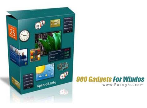 دانلود مجموعه 900 گجت کاربردی برای ویندوز اکس پی ، ویستا و ویندوز 7