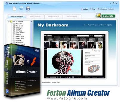 ساخت آلبوم های دیجیتالی جذاب از تصویر با نرم افزار Album Creator v1.9