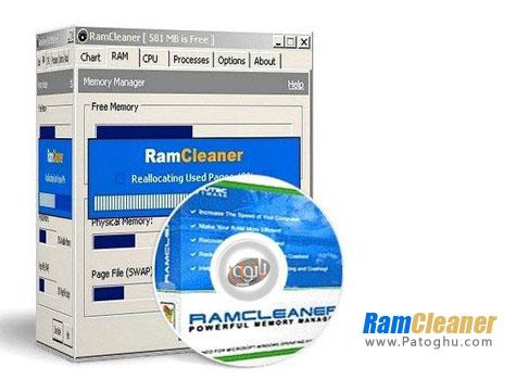بهینه سازی رم و افزایش سرعت ویندوز با نرم افزار RamCleaner v7.1