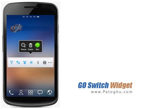 دانلود ویجت کاربردی آندروید - GO Switch Widget 1.74
