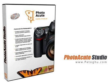 دانلود نرم افزار بالا بردن کیفیت عکس - PhotoAcute Studio v3.0