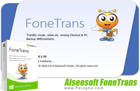انتقال فایل به آیفون و آیپد از کامپیوتر Aiseesoft FoneTrans 8.1.20