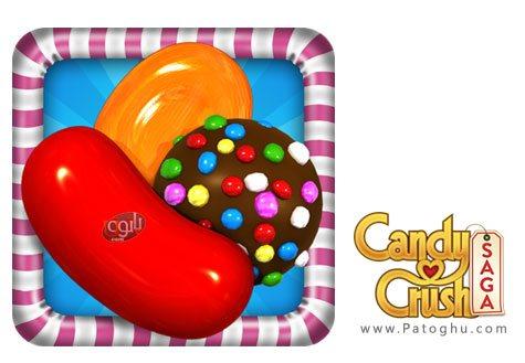 دانلود بازی کندی کراش برای اندروید Candy Crush Saga 1.40