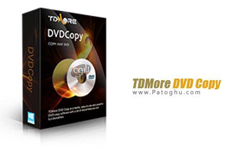 کپی آسان و حرفه ای فیلم های DVD با TDMore DVD Copy 1.0.0.6
