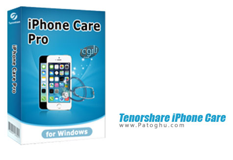 بهینه سازی و حل مشکلات آیفون و آیپد Tenorshare iPhone Care Pro 1.9.0